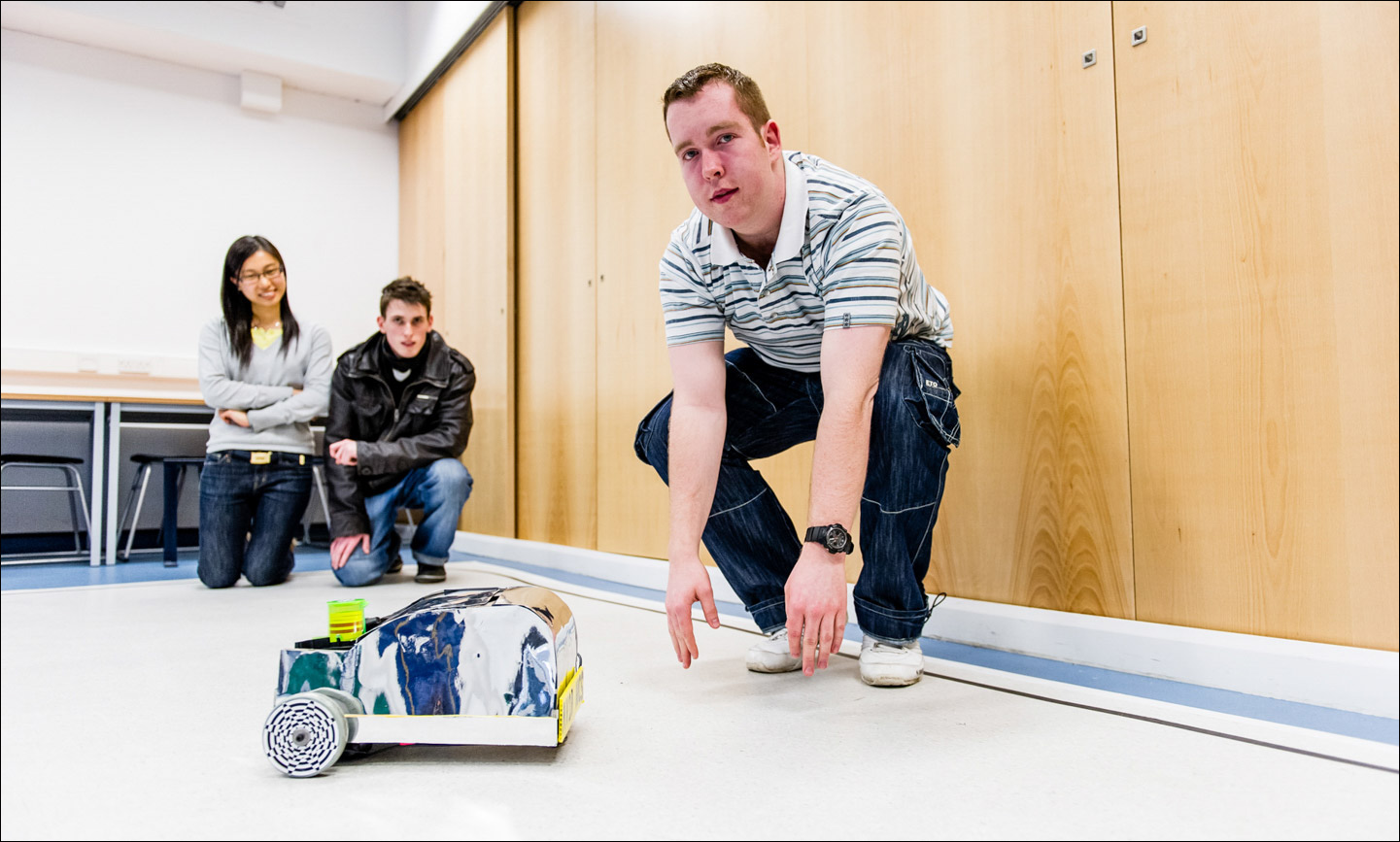 Engineering Robots Glasgow University Paul Hampton Photographer