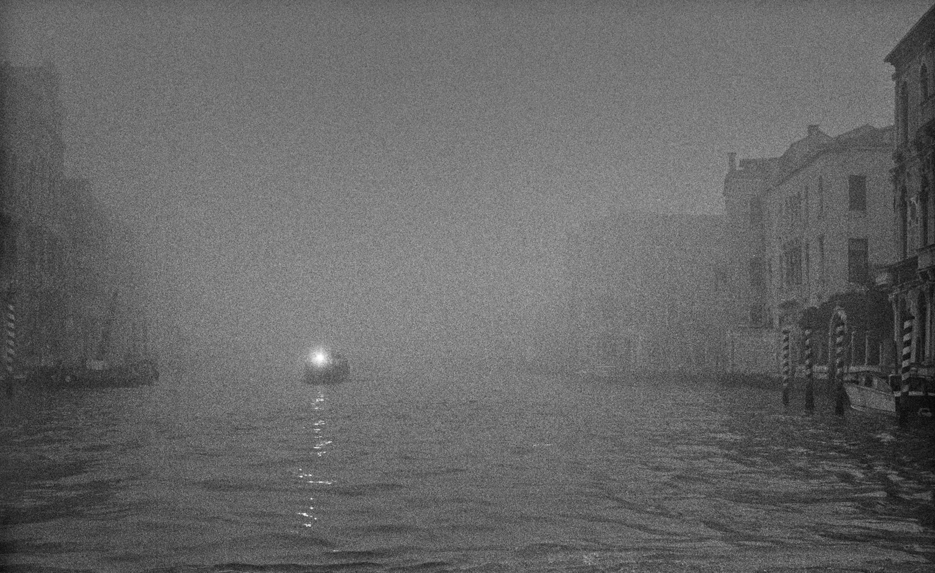 Fog on Canal, Venice ©Paul Hampton Photographer Glasgow