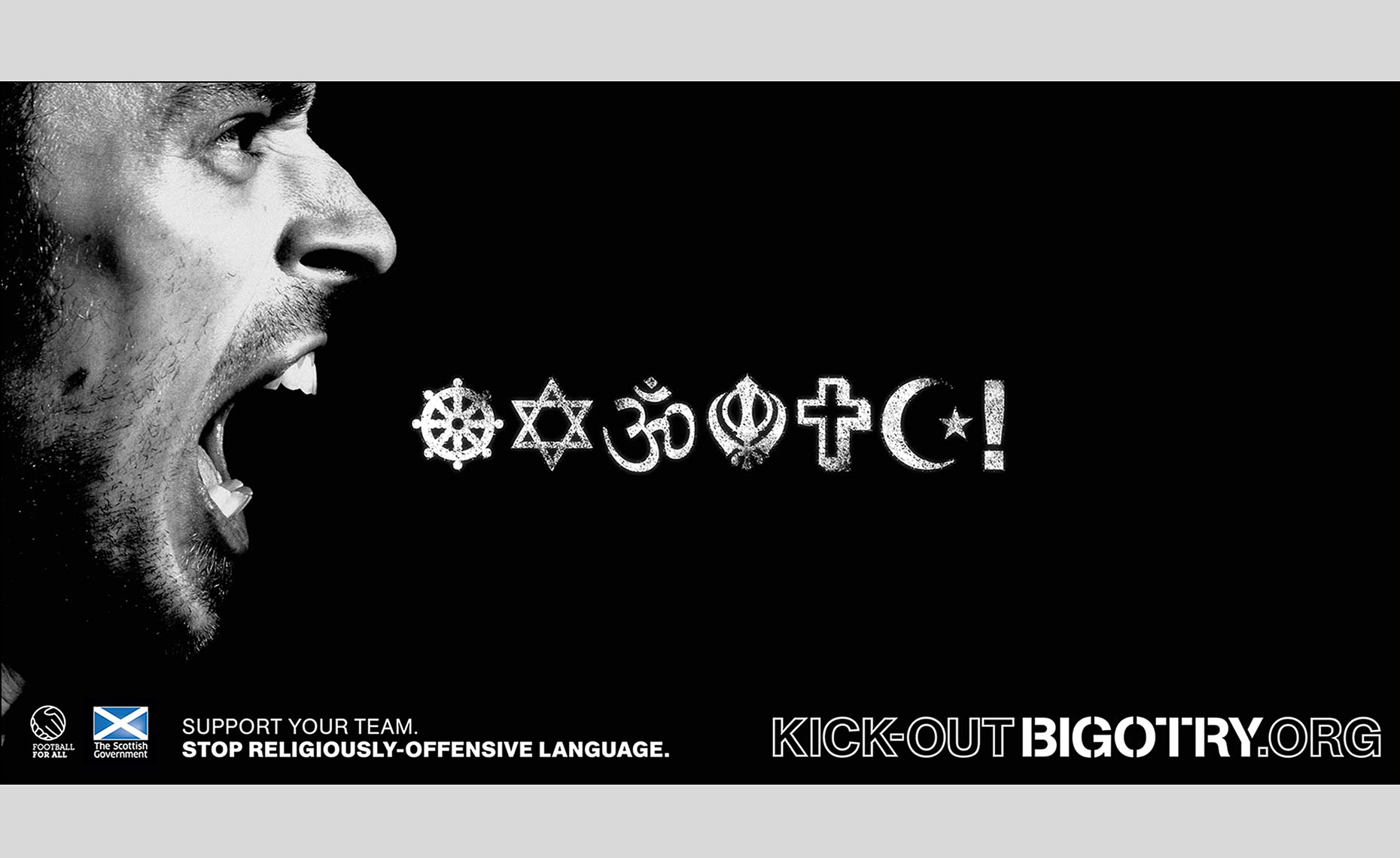 19 Kick Out Bigotry Scotland ©Paul Hampton Photographer Glasgow