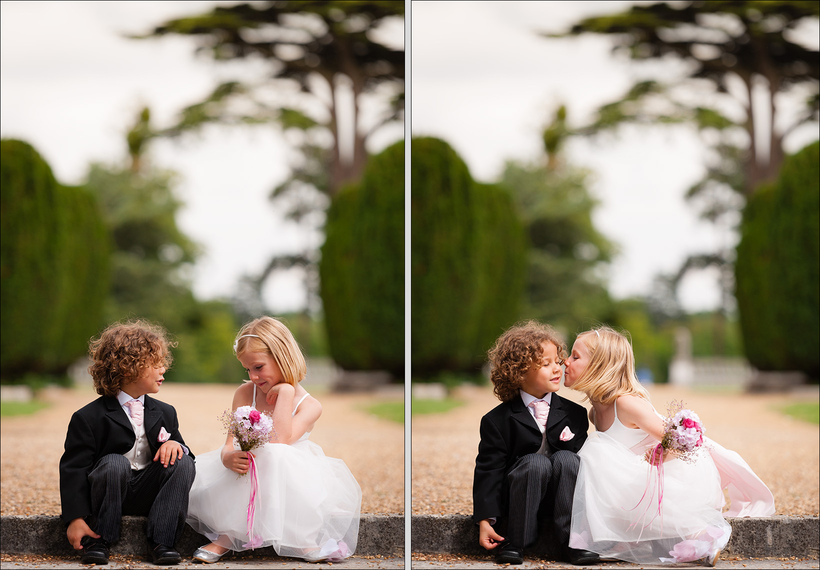 new-2-kids kiss acs stoke park Paul Hampton Photographer