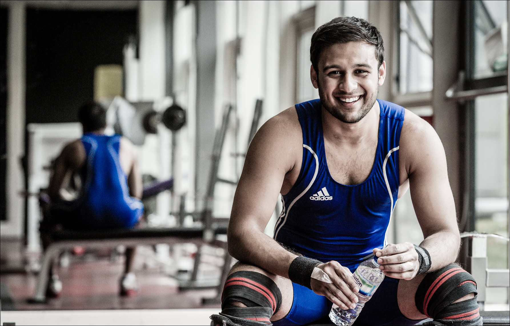 new GCU-Harris-Ansari-Weightlifter-007820032 Glasgow University Paul Hampton Photographer