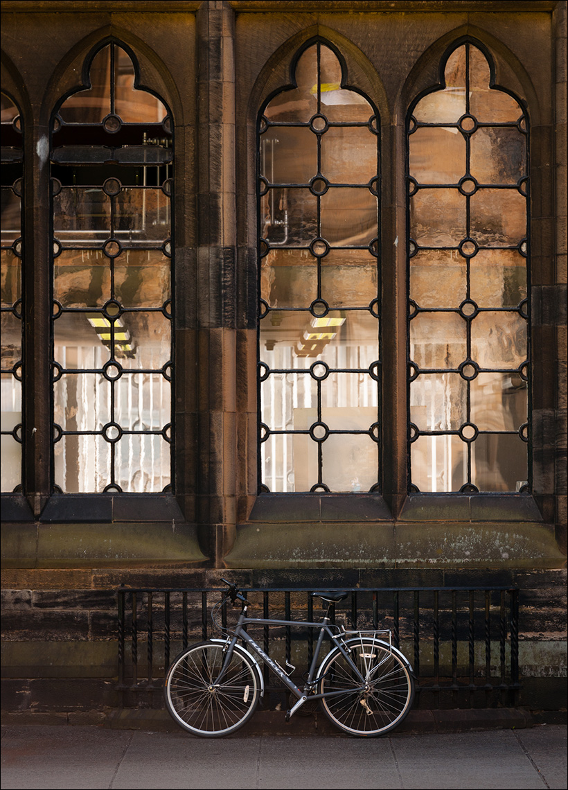 Bike Glasgow University Paul Hampton Photographer