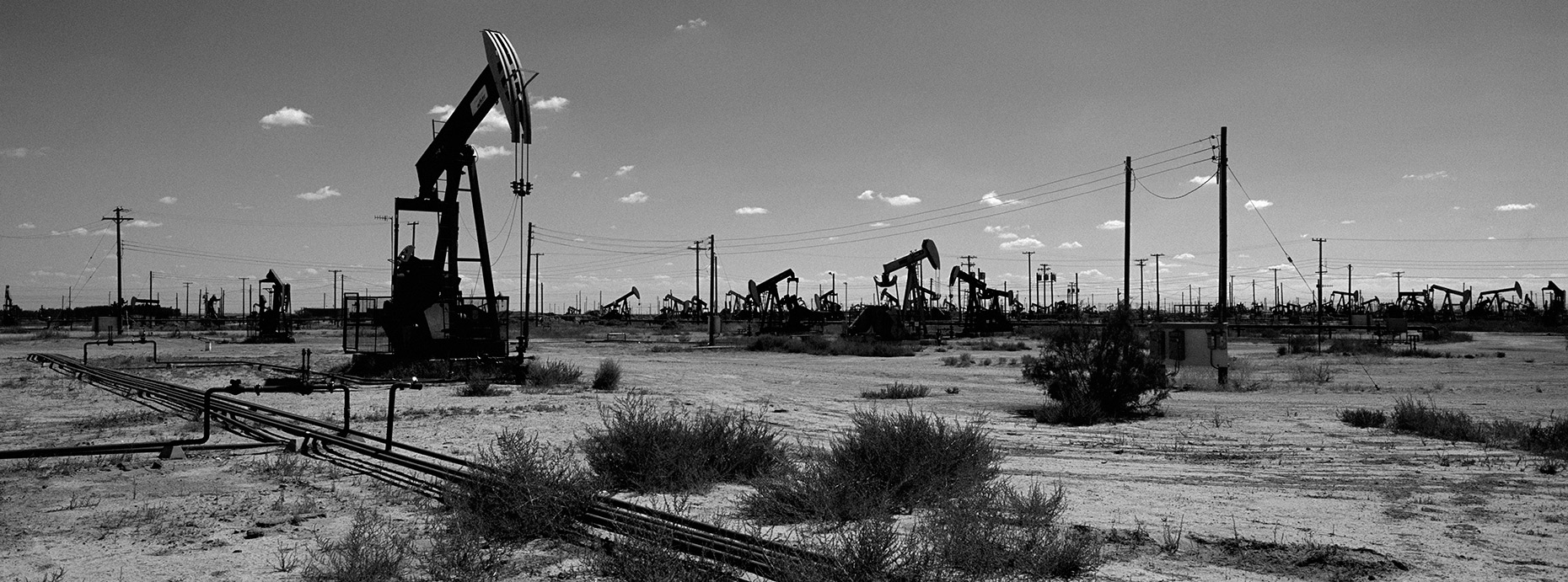 chevron gas field bakersfield ©Paul Hampton Photographer Glasgow