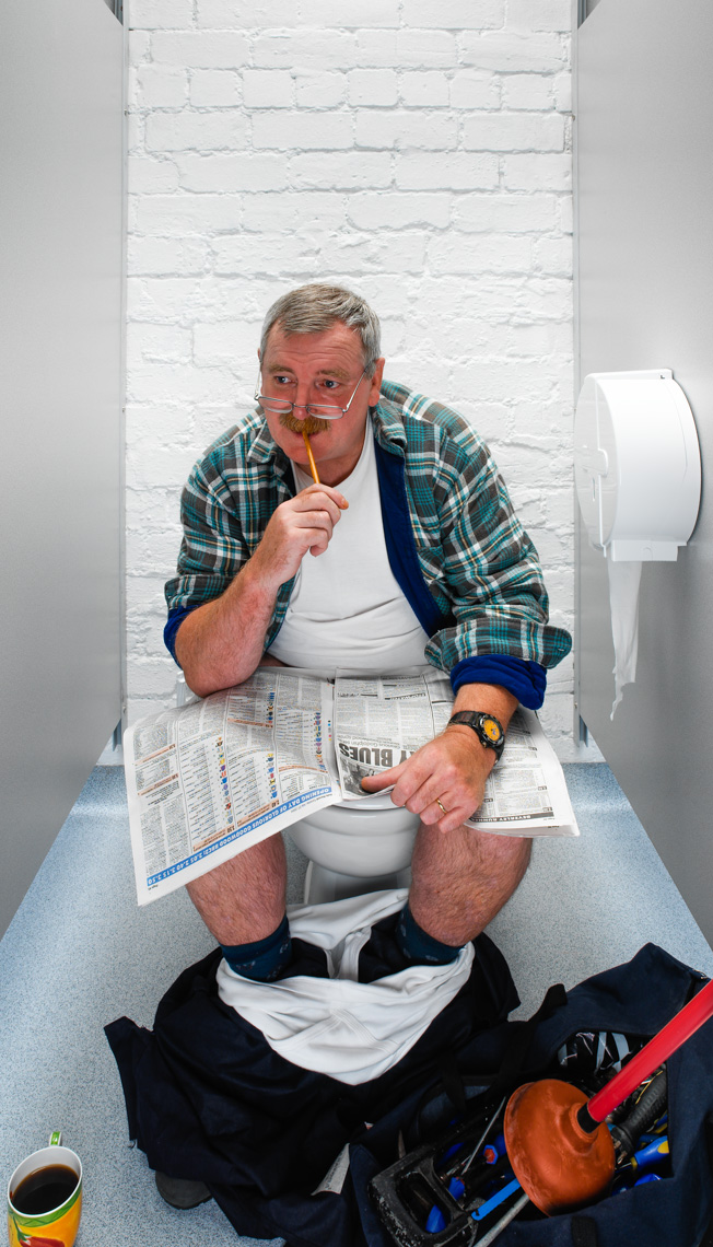 28 plumber WOSCAP Cancer  Scotland ©Paul Hampton Photographer Glasgow